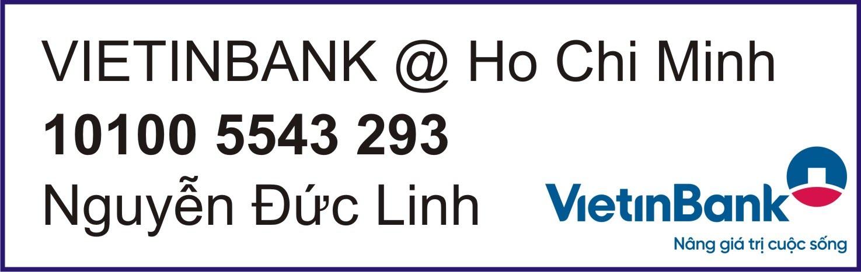 Tài khoản Ngân hàng Đông Á - Chợ Đồ Sắt