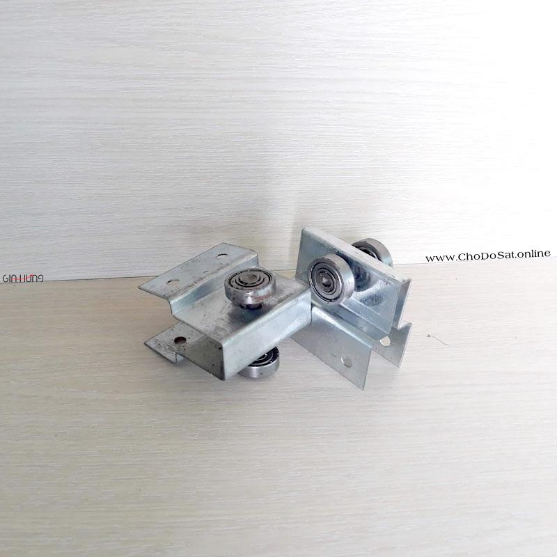 Bánh xe máng treo cửa lùa CDS-224 giá Tốt tại Chợ Đồ Sắt Online