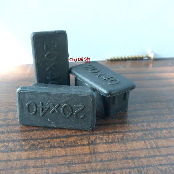 Chụp bịt đầu sắt hộp bằng nhựa 20x40 CD-233