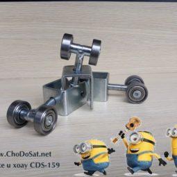 Trọng lượng của 500 chiếc bánh xe u xoay CDS-159 là gần 43kg
