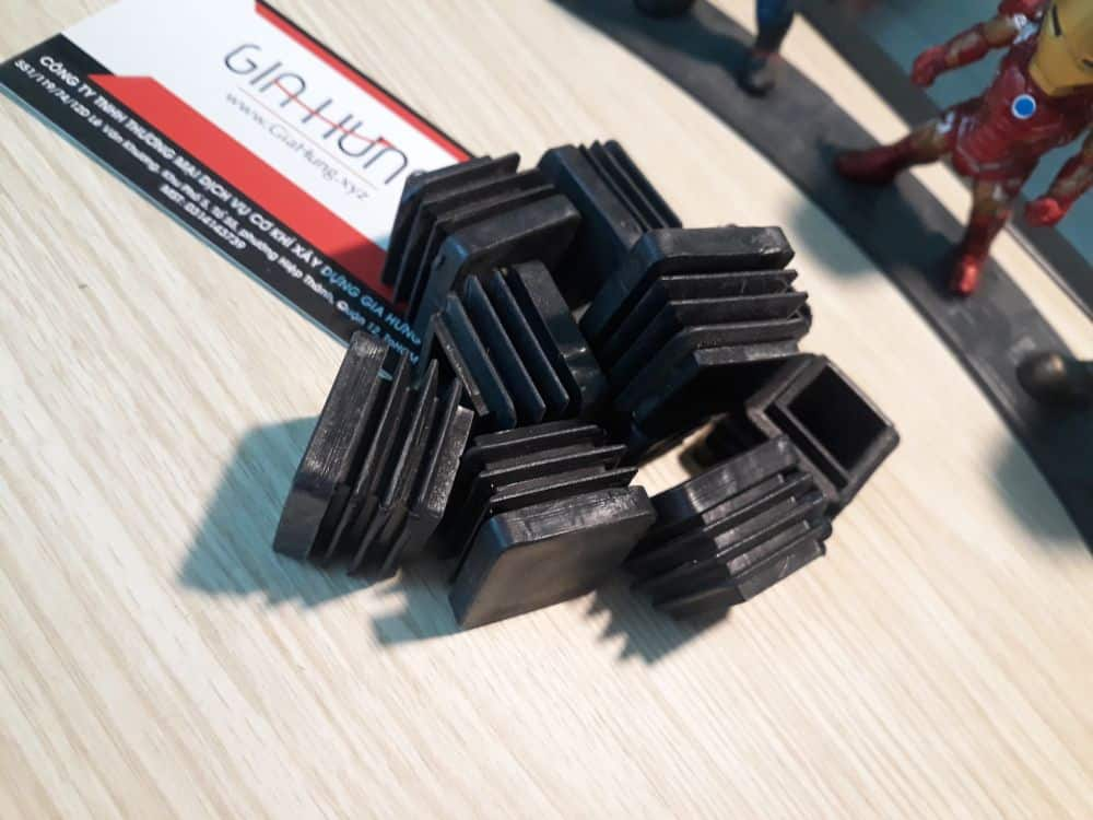 Bịt nhựa sắt/inox hộp vuông 30x30 dùng cho sắt dày CDS-15997