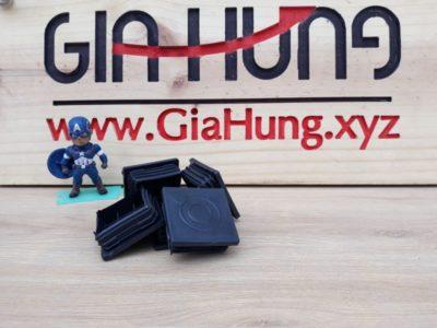 Bịt nhựa đầu sắt/ inox hộp 50x50 GHZ-416 chuyên dùng cho bàn kệ khung sắt/ inox