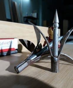 Chông 3 lá sắt dài 10cm dùng cho hàng rào CDS-16026