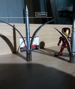 Chông 3 lá sắt dài 15cm dùng cho hàng rào CDS-16027